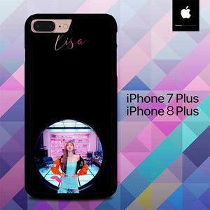 Blackpink Lisa Sexy Stand By O5059 hoesjes iPhone 7 Plus , iPhone 8 Plus