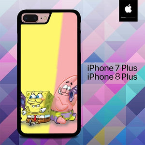 Spongebob and Patric O6533 hoesjes iPhone 7 Plus , iPhone 8 Plus