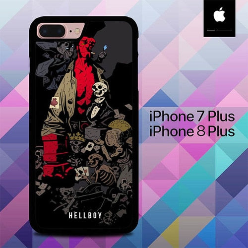 Hellboy O6541 hoesjes iPhone 7 Plus , iPhone 8 Plus