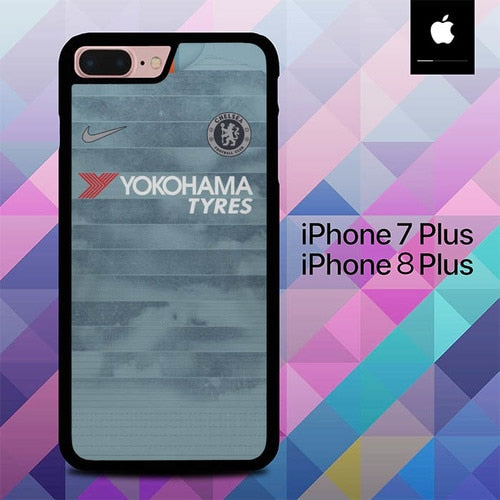 Jersey Chelsea FC O6550 hoesjes iPhone 7 Plus , iPhone 8 Plus
