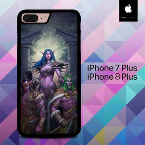 Warcraft O6554 hoesjes iPhone 7 Plus , iPhone 8 Plus