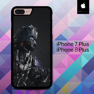 Darth Vader Digital Art O6703 hoesjes iPhone 7 Plus , iPhone 8 Plus