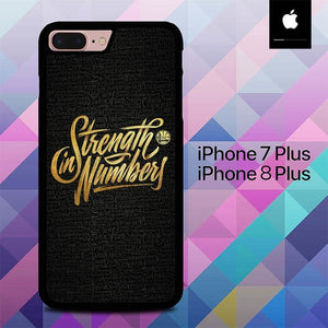 Strength in Numbers O6792 hoesjes iPhone 7 Plus , iPhone 8 Plus
