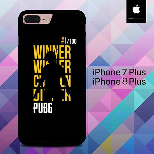 Winner Winner Chicken Dinner PUBG O6809 hoesjes iPhone 7 Plus , iPhone 8 Plus