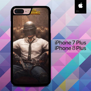 PUBG Helmet Guy O6812 hoesjes iPhone 7 Plus , iPhone 8 Plus