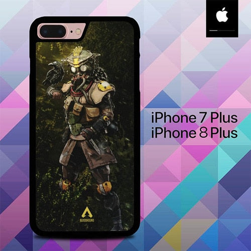 Bloodhound Apex Legends O6817 hoesjes iPhone 7 Plus , iPhone 8 Plus