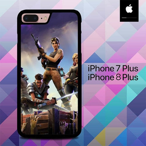 Fortnite Battle Royale O6848 hoesjes iPhone 7 Plus , iPhone 8 Plus