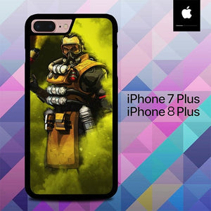Caustic Apex Legends O7103 hoesjes iPhone 7 Plus , iPhone 8 Plus