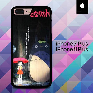 My Neighbor Totoro O7235 hoesjes iPhone 7 Plus , iPhone 8 Plus