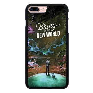 Bring Me to the New World O7271 hoesjes iPhone 7 Plus , iPhone 8 Plus