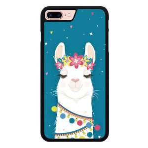For the Love of Llamas O7288 hoesjes iPhone 7 Plus , iPhone 8 Plus
