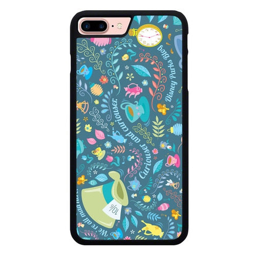 Curiouser and Curiouser Disney O7364 hoesjes iPhone 7 Plus , iPhone 8 Plus