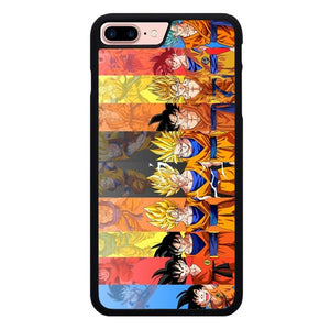 Revolusi Dragon Ball Goku O7386 hoesjes iPhone 7 Plus , iPhone 8 Plus