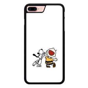 Snoopy Happy Everyday O7398 hoesjes iPhone 7 Plus , iPhone 8 Plus