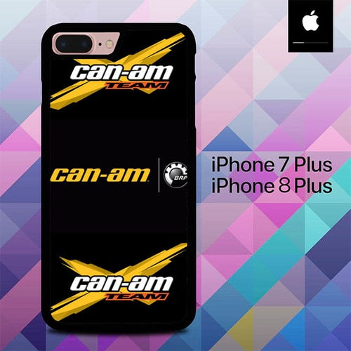 BRP Can Am Team Logo O7447 hoesjes iPhone 7 Plus , iPhone 8 Plus