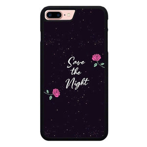 Save The Night O7450 hoesjes iPhone 7 Plus , iPhone 8 Plus