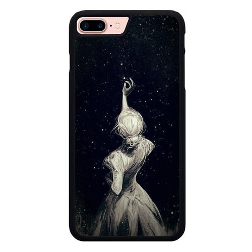 Pick beautiful stars O7452 hoesjes iPhone 7 Plus , iPhone 8 Plus