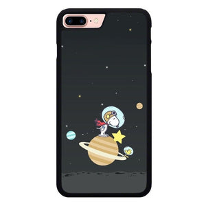 Snoopy in Galaxy O7469 hoesjes iPhone 7 Plus , iPhone 8 Plus
