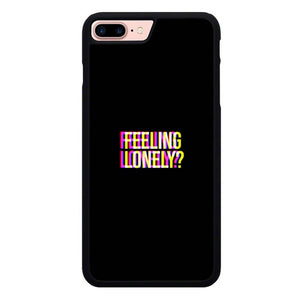 Feel Lonely O7476 hoesjes iPhone 7 Plus , iPhone 8 Plus