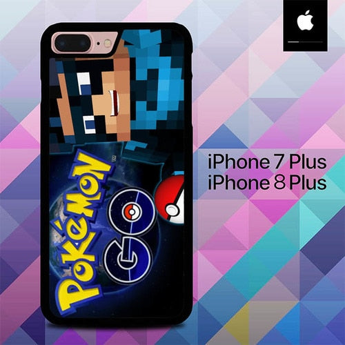 Pokemon in Real Life O7485 hoesjes iPhone 7 Plus , iPhone 8 Plus