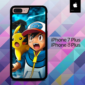 Pokemon O7487 hoesjes iPhone 7 Plus , iPhone 8 Plus