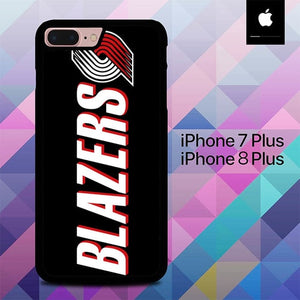 Portland Trailblazers O7497 hoesjes iPhone 7 Plus , iPhone 8 Plus