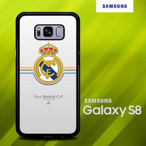 Real Madrid Logo O7503 Samsung Galaxy S8 hoesjes