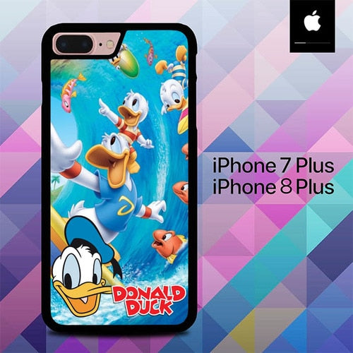 Donald Duck O7508 hoesjes iPhone 7 Plus , iPhone 8 Plus