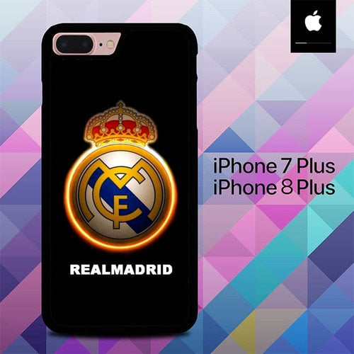 Real Madrid O7512 hoesjes iPhone 7 Plus , iPhone 8 Plus