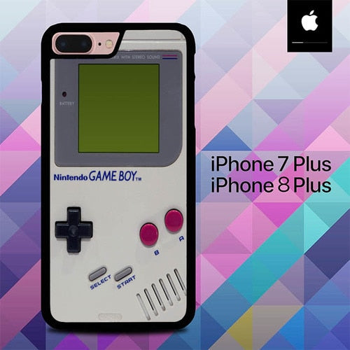 Retro Gameboy Nintendo O7514 hoesjes iPhone 7 Plus , iPhone 8 Plus