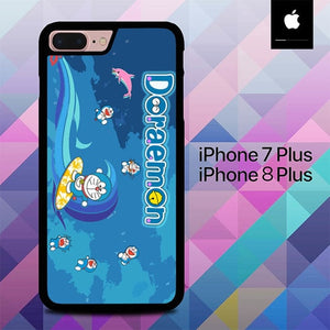 Doraemon O7518 hoesjes iPhone 7 Plus , iPhone 8 Plus