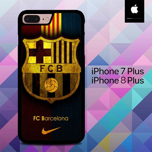 FC Barcelona O7529 hoesjes iPhone 7 Plus , iPhone 8 Plus