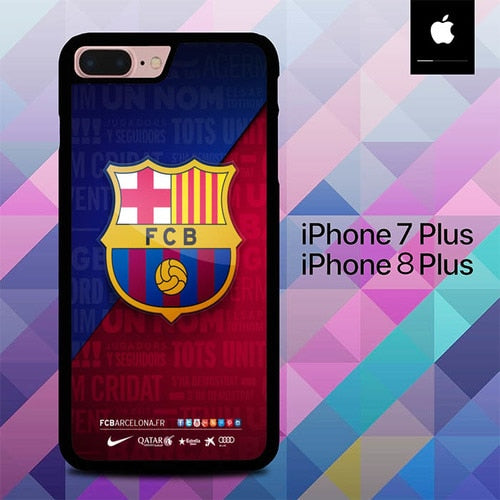 Fc Barcelona Logo O7531 hoesjes iPhone 7 Plus , iPhone 8 Plus