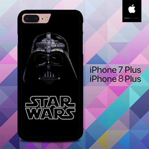 Star Wars Darth Vader  O7533 hoesjes iPhone 7 Plus , iPhone 8 Plus