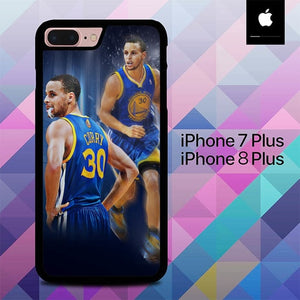 Stephen Curry O7534 hoesjes iPhone 7 Plus , iPhone 8 Plus