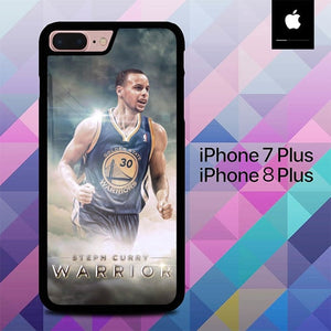 Stephen Curry O7535 hoesjes iPhone 7 Plus , iPhone 8 Plus