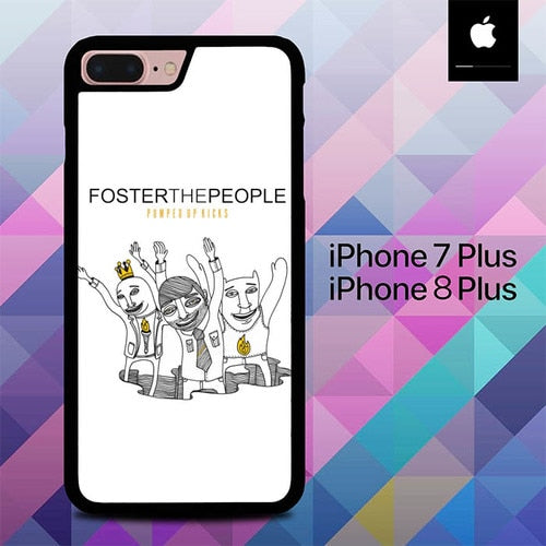 Foster The People O7551 hoesjes iPhone 7 Plus , iPhone 8 Plus