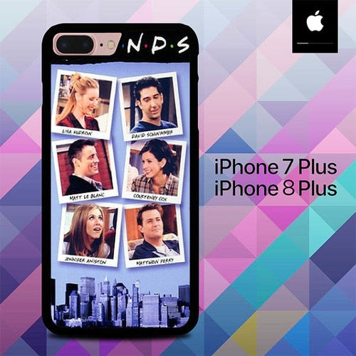 Friends TV Series O7553 hoesjes iPhone 7 Plus , iPhone 8 Plus