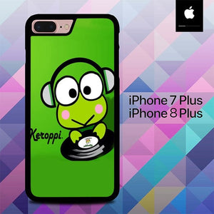Funny wallpapers Keroppi O7556 hoesjes iPhone 7 Plus , iPhone 8 Plus