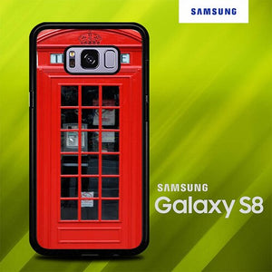 Telephone Boxes O7559 Samsung Galaxy S8 hoesjes
