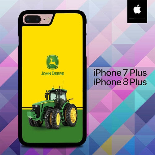 John Deere Tractor O7614 hoesjes iPhone 7 Plus , iPhone 8 Plus