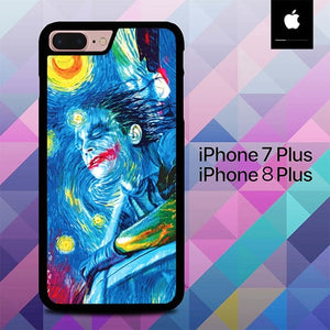 Joker Starry Night  O7618 hoesjes iPhone 7 Plus , iPhone 8 Plus