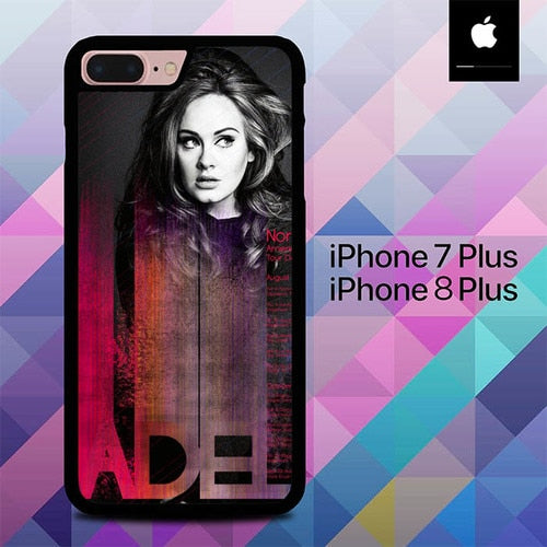 Adele Poster O7623 hoesjes iPhone 7 Plus , iPhone 8 Plus