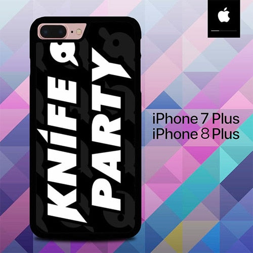 Knife Party O7643 hoesjes iPhone 7 Plus , iPhone 8 Plus