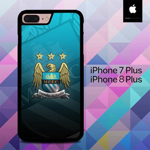 Manchester City O7675 hoesjes iPhone 7 Plus , iPhone 8 Plus