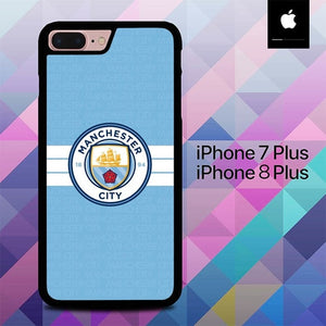 Manchester city O7677 hoesjes iPhone 7 Plus , iPhone 8 Plus