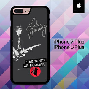 Luke Hemmings O7679 hoesjes iPhone 7 Plus , iPhone 8 Plus