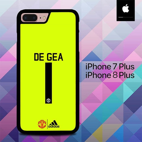 Manchester United De Gea O7681 hoesjes iPhone 7 Plus , iPhone 8 Plus