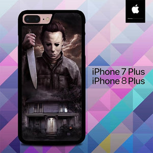 Michael Myers O7704 hoesjes iPhone 7 Plus , iPhone 8 Plus