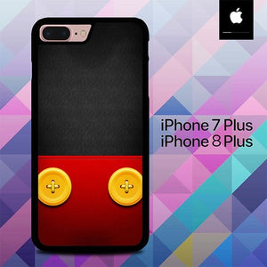 Mickey Mouse Wallpaper O7708 hoesjes iPhone 7 Plus , iPhone 8 Plus